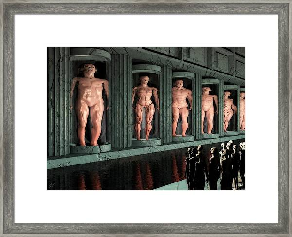 Museum Of Inner Demons Framed Print