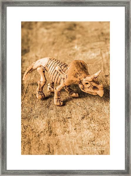 Museum Of Plastic Extinctions Framed Print