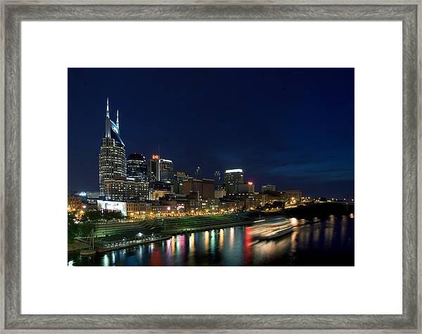 Music City Queen At Nashville Framed Print