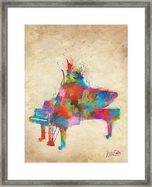 Music Strikes Fire From The Heart Framed Print