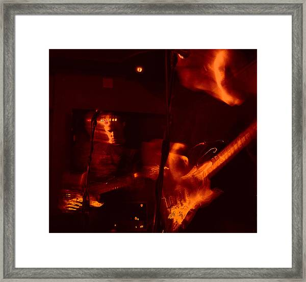Musical Luminescence Framed Print
