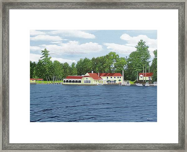 Muskoka Lakes Golf And Country Club Framed Print