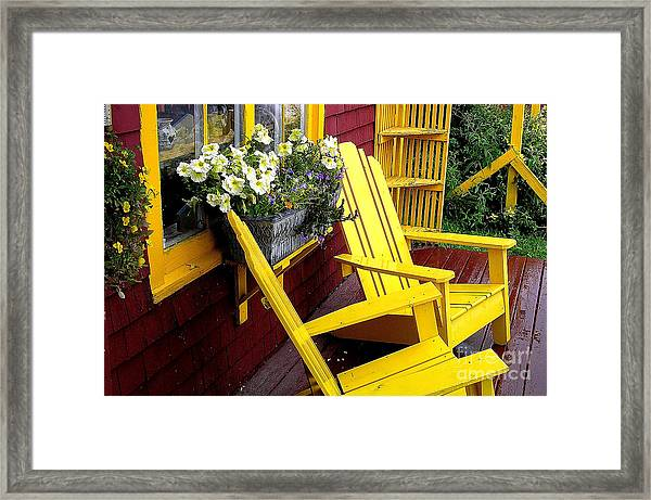 Mustard Mill Framed Print