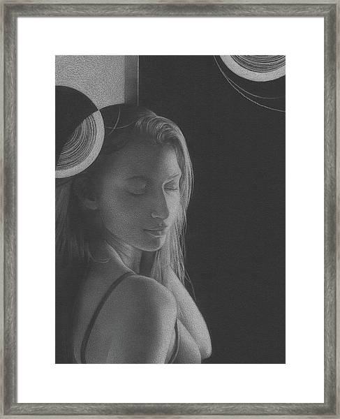 Muted Shadow No. 3 Framed Print