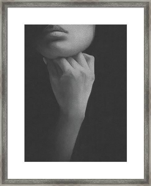 Muted Shadow No. 2 Framed Print