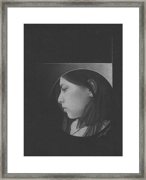 Muted Shadow No. 1 Framed Print