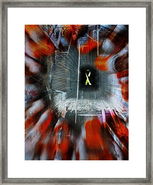My Affliction Framed Print