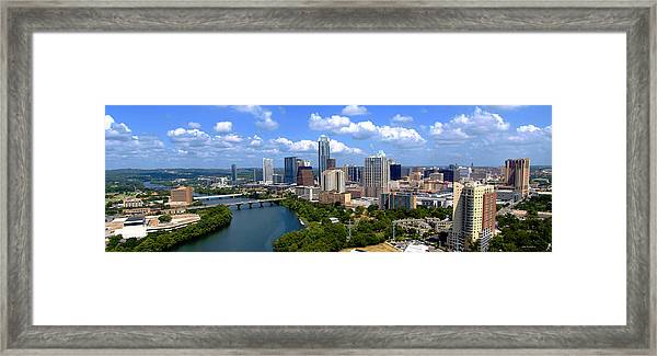 My Austin Skyline Framed Print