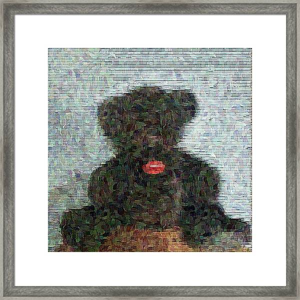My Bear Framed Print