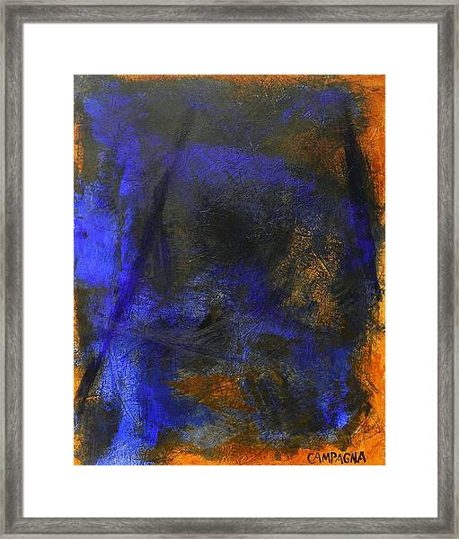 My Blue Framed Print