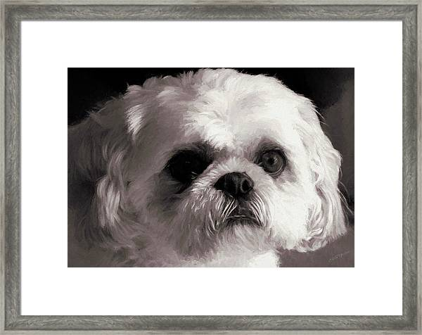 My Bubba - Painting Framed Print