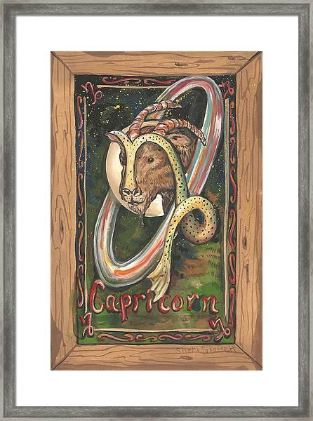 My Capricorn Framed Print