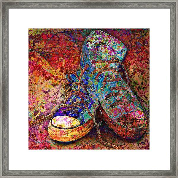 My Cool Sneakers Framed Print