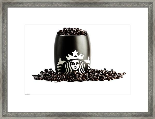 My Cup Runneth Over Framed Print