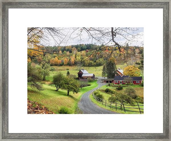 My Dream Home. Framed Print