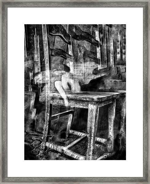 My Favorite Chair 2 Framed Print