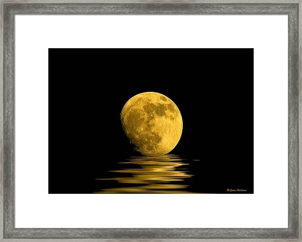 My Harvest Moon Framed Print