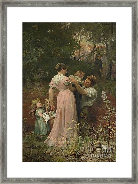 My Lady Is A Widow And Childless, 1874 Framed Print