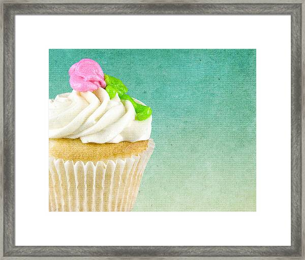 My Little Cupcake Framed Print