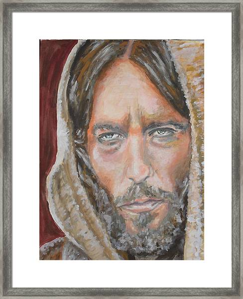 My Lord Framed Print by Agnes V