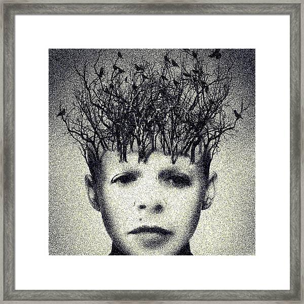 My Mind Framed Print