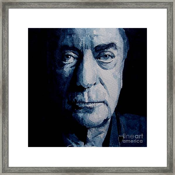 My Name Is Michael Caine Framed Print