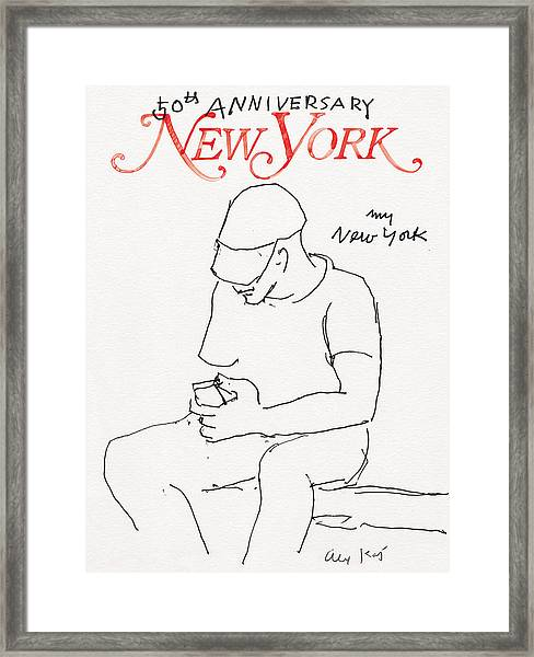 My New York Framed Print