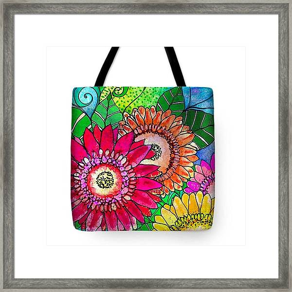 My Newest #canvastotebag  Morning Framed Print by Robin Mead