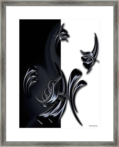 My Rising Projection Framed Print