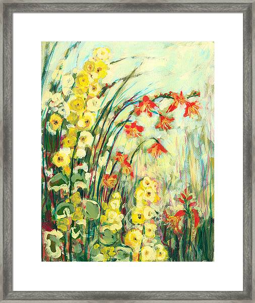 My Secret Garden Framed Print