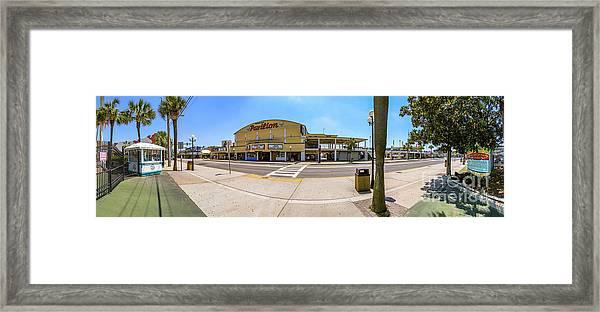 Myrtle Beach Pavilion Building Framed Print
