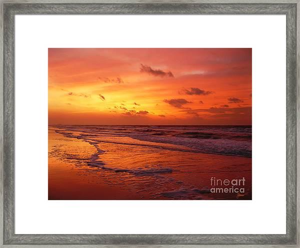 Myrtle Beach Sunrise II Framed Print