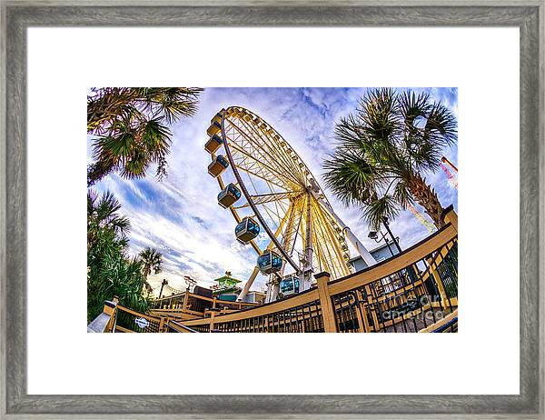 Myrtle Beach Sunset Framed Print