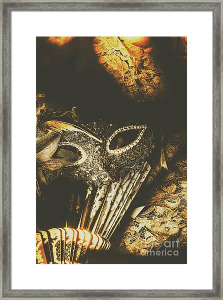 Mysterious Disguise Framed Print