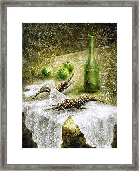 Mysterious Movement Framed Print by Lolita Bronzini