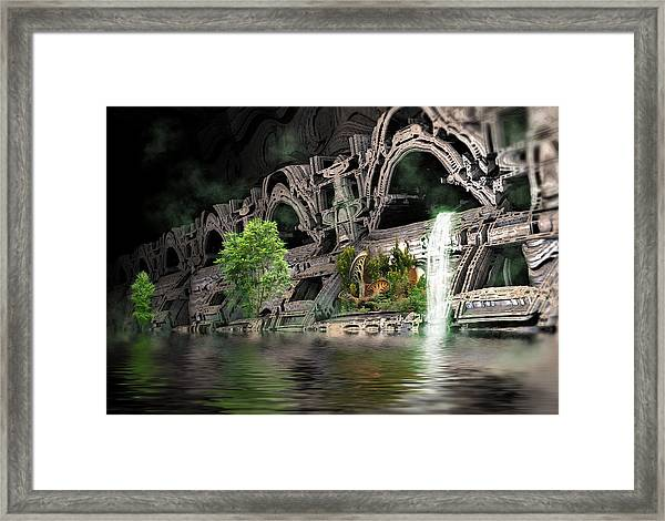 Mysterious Place Framed Print