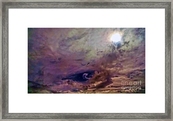 Mystery Sky Framed Print