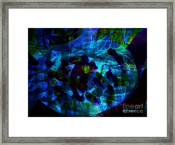 Mystic Creatures Of The Sea Framed Print