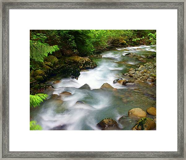 Mystic Creek Framed Print