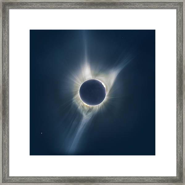 Mystic Eclipse  Framed Print