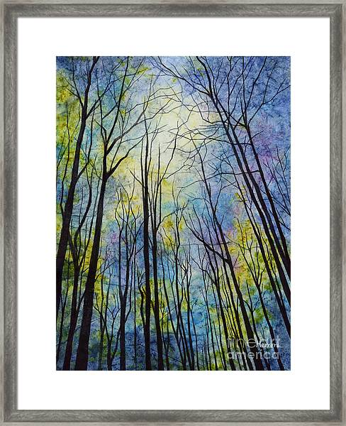 Mystic Forest Framed Print