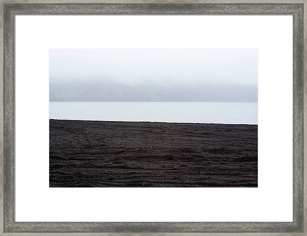 Framed Print featuring the photograph Mystical Island - Shores Of The Black Lake by Matthew Wolf