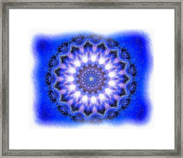 Mystic Mandala Framed Print