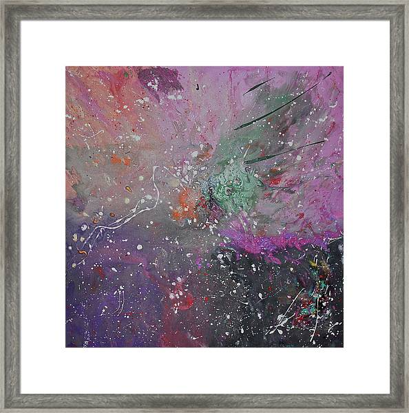 Framed Print featuring the painting Mystical Dance by Michael Lucarelli