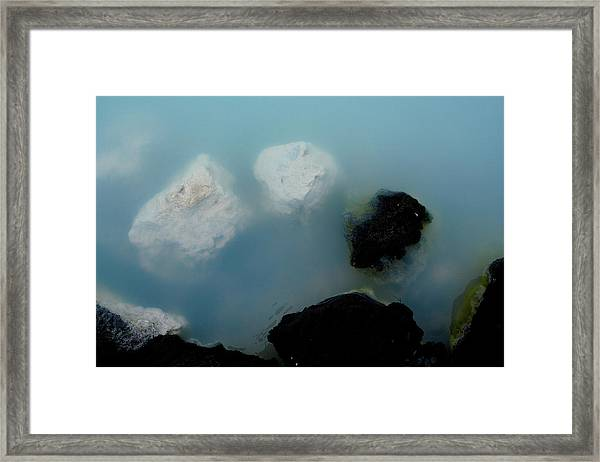 Framed Print featuring the photograph Mystical Island - Healing Waters by Matthew Wolf
