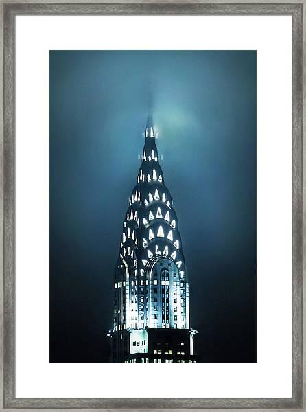 Mystical Spires Framed Print