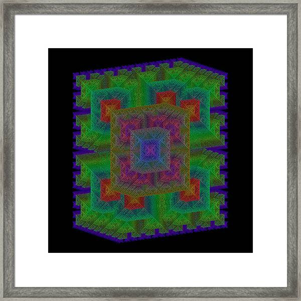 Nadiations Framed Print