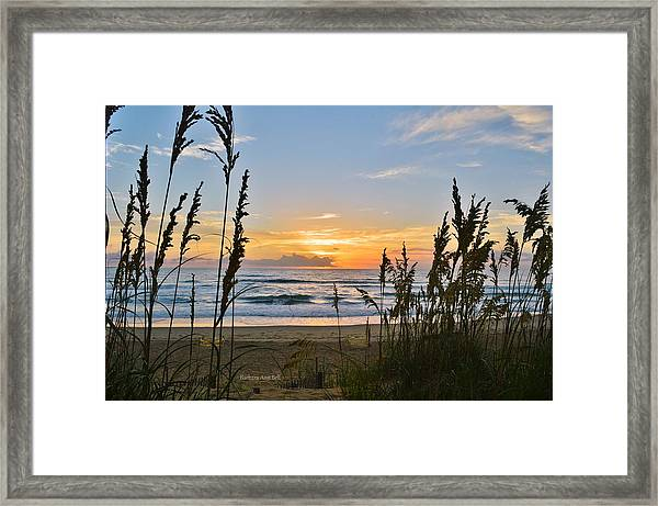 Nags Head August 5 2016  Framed Print
