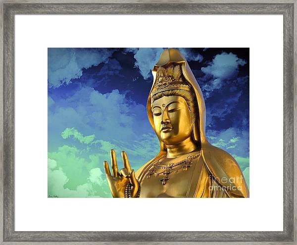 Namo Guan Shi Yin Pusa Framed Print
