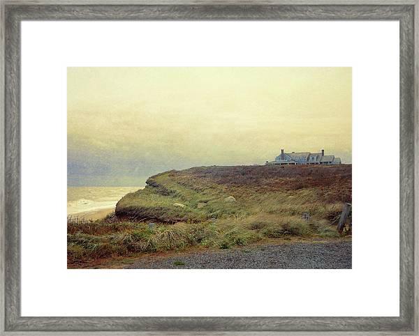 Nantucket Bluff Framed Print by JAMART Photography